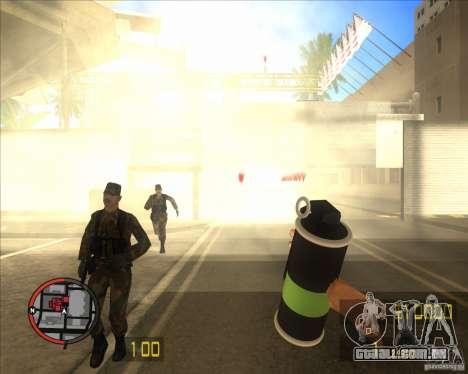 HD de Granada de fumaça para GTA San Andreas