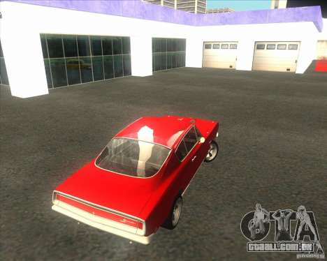 Plymouth Barracuda 1968 para GTA San Andreas vista interior