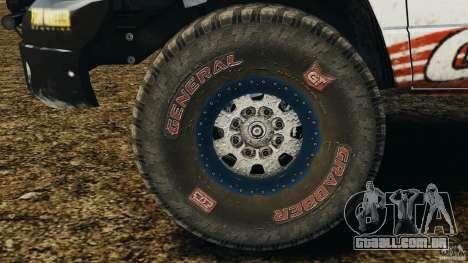 Dodge Power Wagon para GTA 4 vista interior
