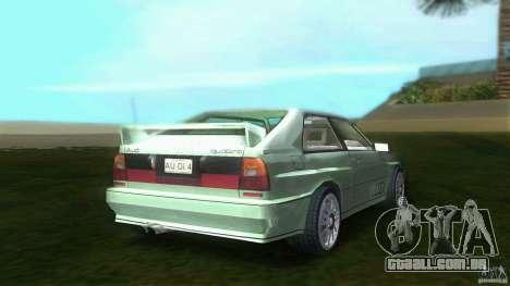 Audi Quattro para GTA Vice City vista traseira esquerda