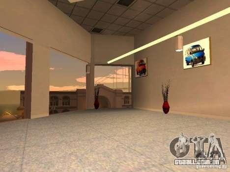 Gaz para GTA San Andreas por diante tela