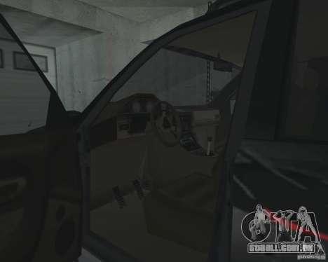 SUV de NFS para GTA San Andreas vista superior