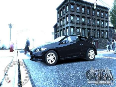 Honda Mugen CR-Z para GTA 4 vista direita