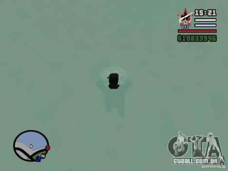 ENBSeries para GForce FX 5200 para GTA San Andreas segunda tela