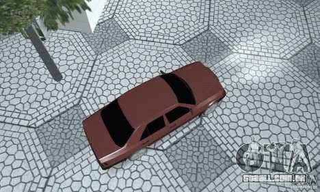 Mercedes-Benz 200D para GTA San Andreas traseira esquerda vista