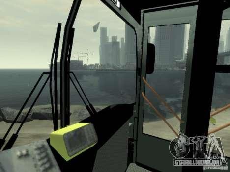 MAZ 103 ônibus para GTA 4 vista lateral