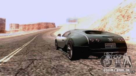 Bugatti ExtremeVeyron para GTA San Andreas vista direita