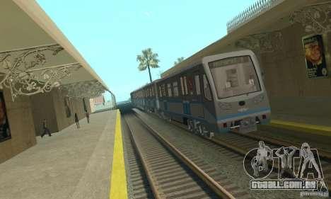 Rusich 4 trem para GTA San Andreas
