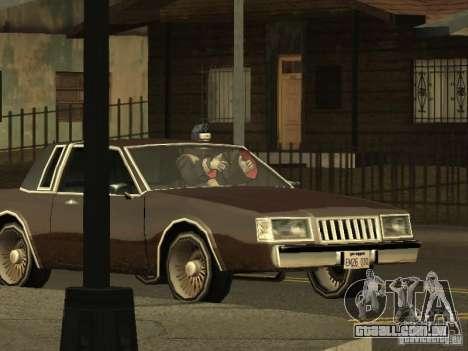 The Akatsuki gang para GTA San Andreas quinto tela