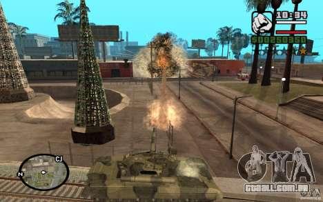 Hydra, mod Panzer para GTA San Andreas terceira tela