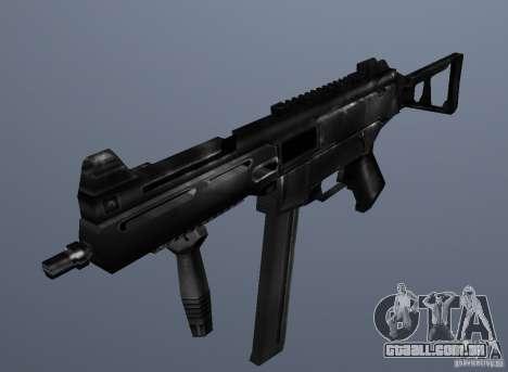 KM UMP45 Counter-Strike 1.5 para GTA San Andreas segunda tela