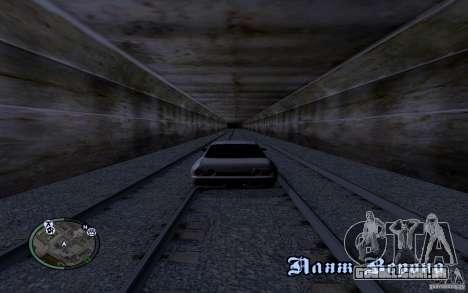 Rails russos para GTA San Andreas quinto tela
