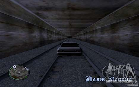 Rails russos para GTA San Andreas