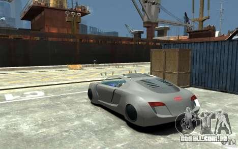 Audi RSQ Concept para GTA 4 traseira esquerda vista