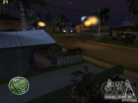 Carros quebrados na Grove Street para GTA San Andreas segunda tela