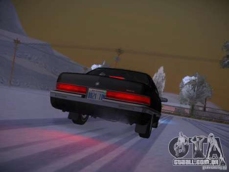 Buick Roadmaster 1996 para GTA San Andreas vista superior