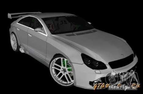 Mercedes-Benz CLS500 The GreenFairy TUNING para GTA San Andreas esquerda vista