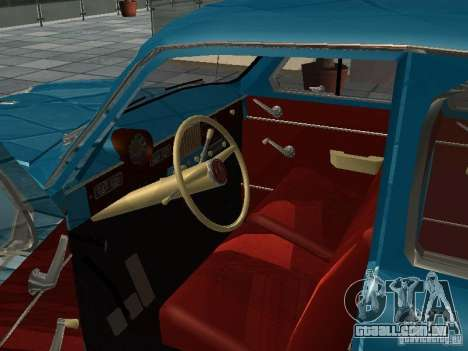 Moskvitch 423 para GTA San Andreas vista direita