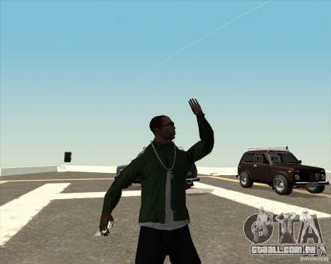 Animação diferente para GTA San Andreas sexta tela