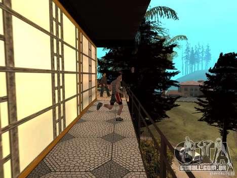Reteksturirovannyj casa CJeâ V1 para GTA San Andreas sexta tela
