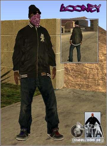 Pele Pack Getto para GTA San Andreas terceira tela
