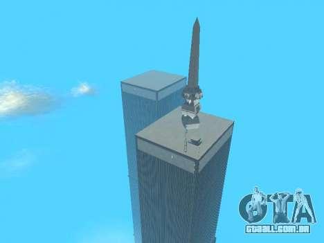World Trade Center para GTA San Andreas décimo tela
