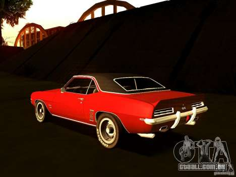 Chevrolet Camaro 1967 para GTA San Andreas esquerda vista
