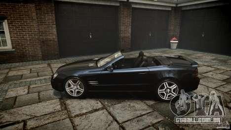 Mercedes Benz SL65 AMG para GTA 4 vista lateral