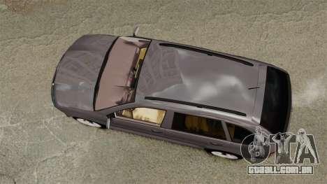 Skoda Fabia Combi para GTA 4 vista direita
