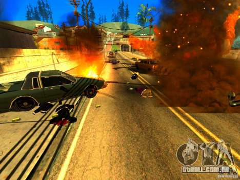 Real Kill para GTA San Andreas terceira tela