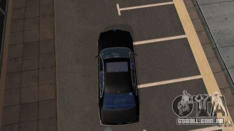 BMW E38 750LI para GTA San Andreas vista direita