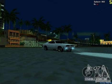 New Graph V2.0 for SA:MP para GTA San Andreas sexta tela