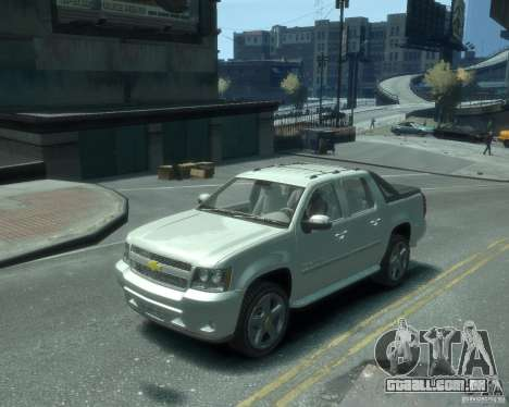 Chevrolet Avalanche Version Pack 1.0 para GTA 4
