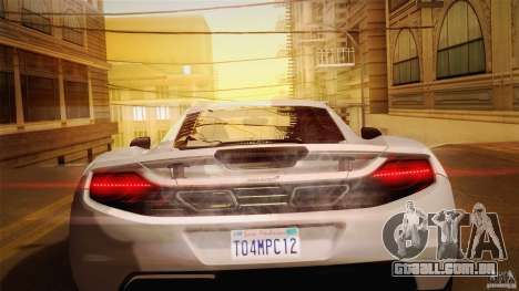 Optix ENBSeries Anamorphic Flare Edition para GTA San Andreas sétima tela