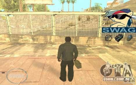 C-HUD Pony SWAG para GTA San Andreas terceira tela