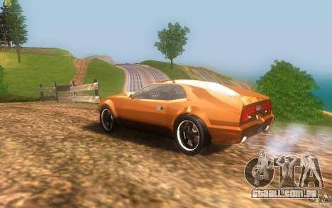 AMC Javelin 2010 para GTA San Andreas esquerda vista