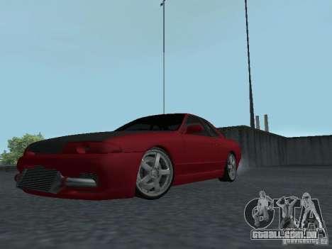 Nissan Skyline R32 Classic Drift para GTA San Andreas esquerda vista