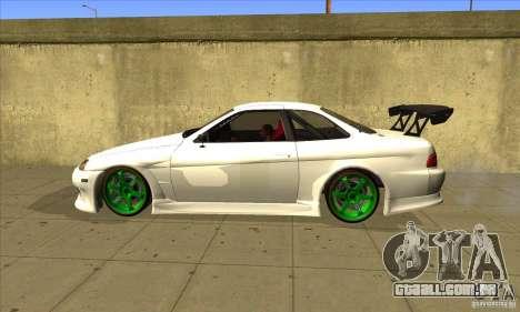 Toyota Soarer para GTA San Andreas esquerda vista