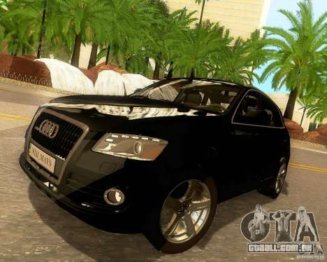 Audi Q5 para as rodas de GTA San Andreas