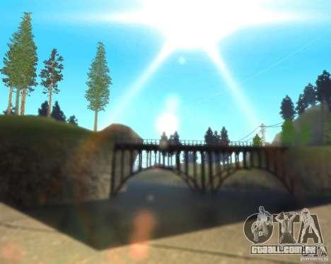 Real World ENBSeries v3.0 para GTA San Andreas terceira tela