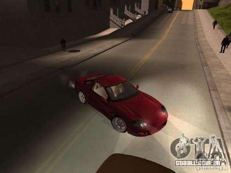 Mitsubishi 3000GT para GTA San Andreas traseira esquerda vista