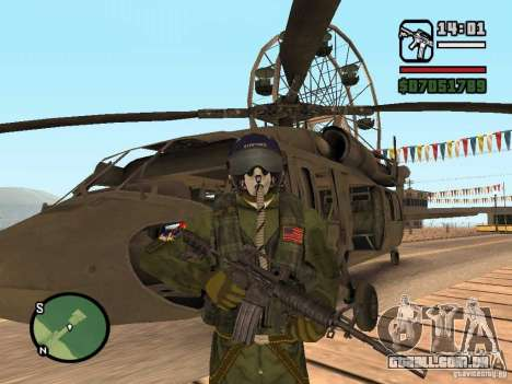 US Air Force para GTA San Andreas segunda tela