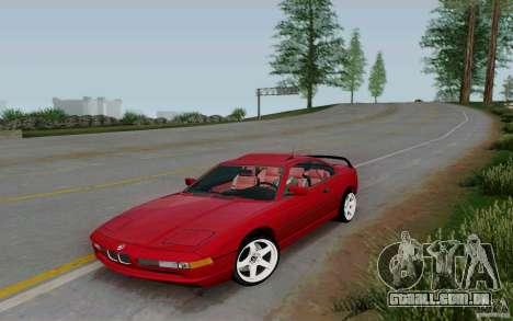 BMW 850i v2.0 Final para GTA San Andreas
