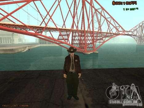 Sheriff Departament Skins Pack para GTA San Andreas por diante tela