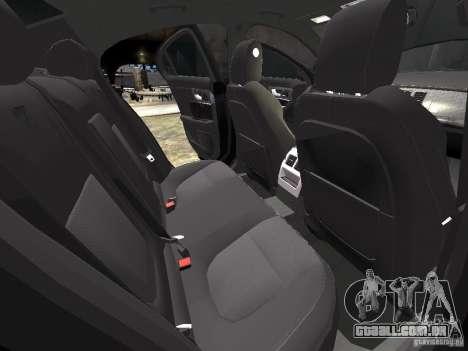 Jaguar XFR para GTA 4 rodas