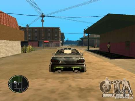 Fantasma de vinil para Elegy para GTA San Andreas vista direita
