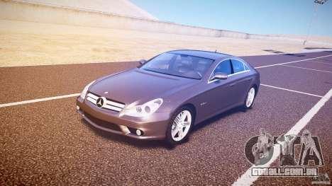 Mercedes-Benz CLS 63 para GTA 4 esquerda vista