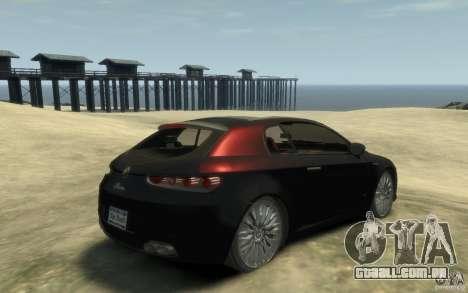 Alfa Romeo Brera para GTA 4 vista direita