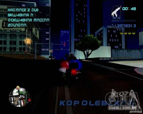 Not ENB para GTA San Andreas terceira tela