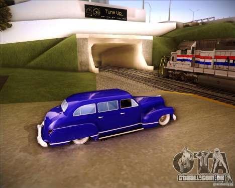 Lissiter 75 para GTA San Andreas esquerda vista